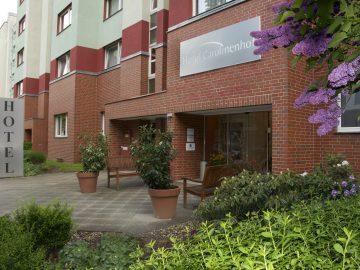 VCH-Hotel Carolinenhof Eingang