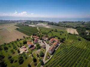 Gästehaus-Luftaufnahme