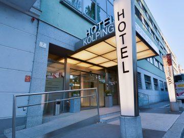 Hotel Kolping Linz Aussenansicht