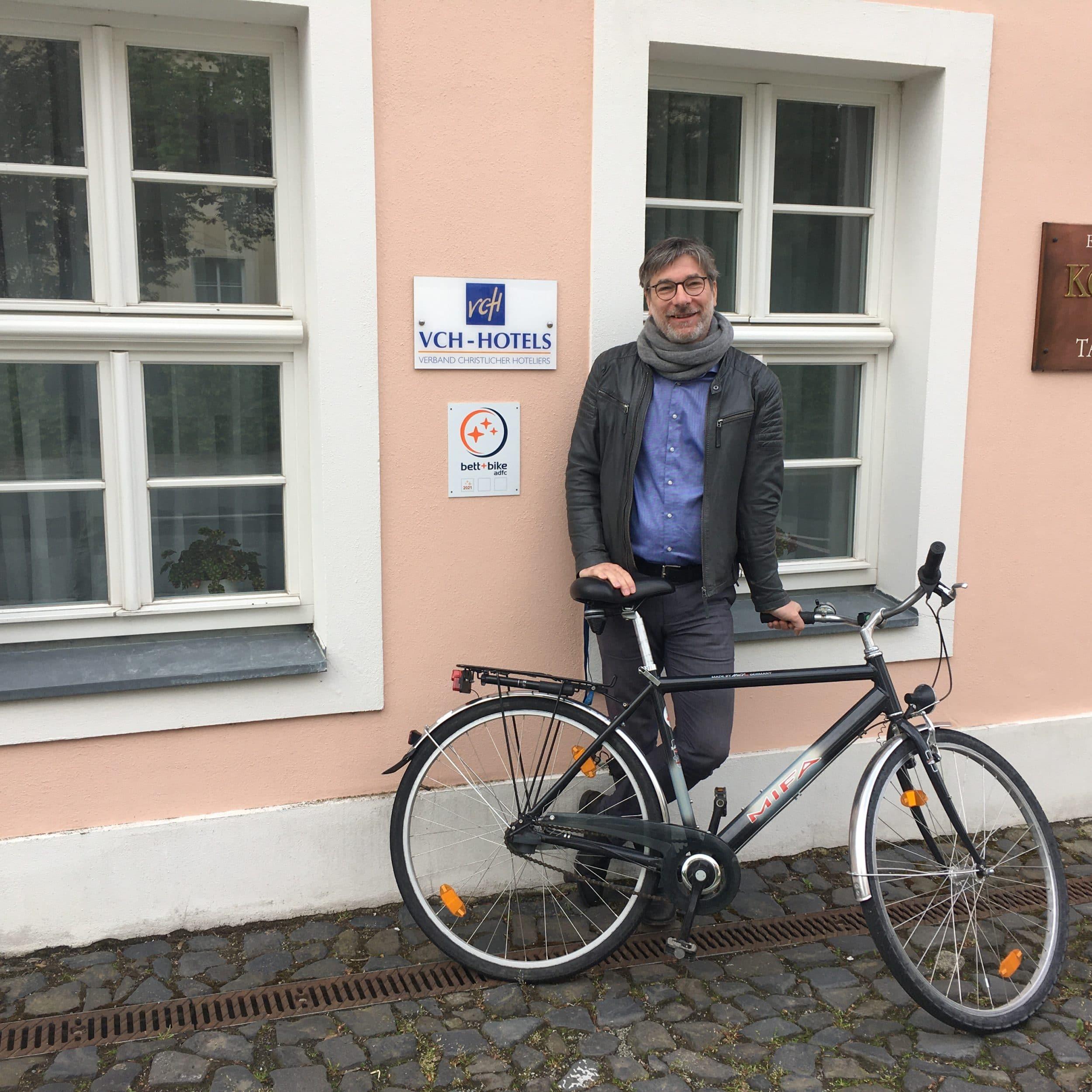 Bett and Bike Zertifizierung