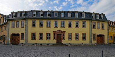 Eindrücke aus der VCH-Stadtführung durch Weimar