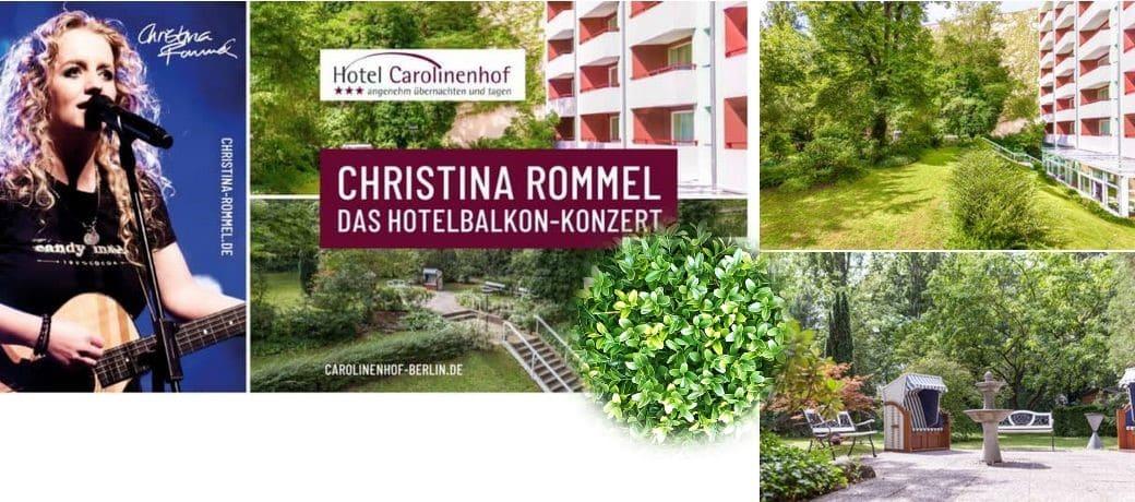 Konzert Christina Rommel Berlin