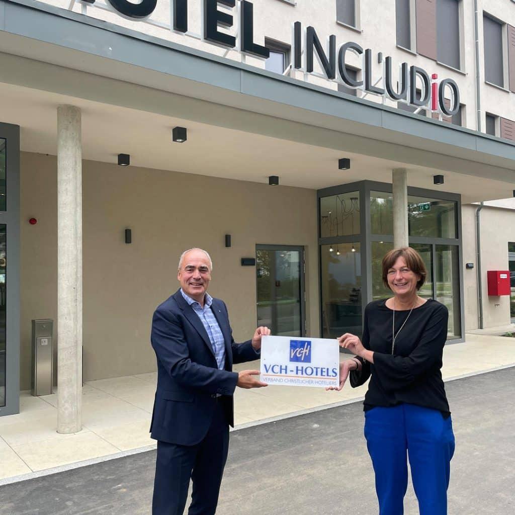 Hotel Includio wird im VCH willkommen geheißen